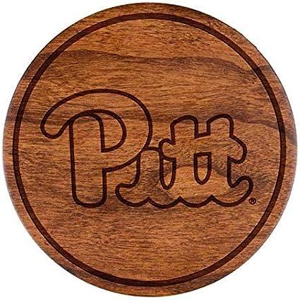 LazerEdge NCAA Wooden Coasters Set of 4