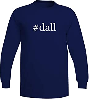 The Town Butler #Dall - A Soft & Comfortable Hashtag Men's Long Sleeve T-Shirt