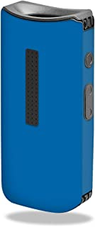 MightySkins Skin Compatible with Davinci IQ Vape - Solid Blue | Protective, Durable, and Unique Vinyl Decal wrap Cover | Easy to Apply, Remove, and Change Styles | Made in The USA