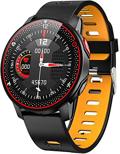hwbq Reloj Inteligente Deportes Fitness Tracker Bluetooth Smartwatch Hombres s y Mujeres s Monitor para Android-B