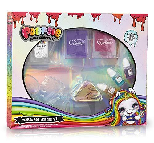 Poopsie Slime Surprise Unicornio Set para Hacer Tus Propios Jabones, Juegos Manualidades Moldes y Fragancias, Fábrica de Jabón Juguete Educativo para Niños, Regalos Originales Niñas