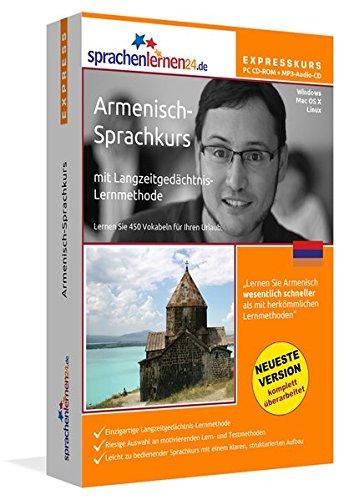 Sprachenlernen24.de Armenisch-Express-Sprachkurs PC CD-ROM für Windows/Linux/Mac OS X + MP3-Audio-CD: Werden Sie in wenigen Tagen fit für Ihre Reise nach Armenien