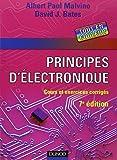 Principes d'électronique - Cours et exercices corrigés - Dunod - 05/03/2008