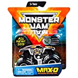 Monster Jam Max-D Maximum Destruction Diecast with Figure & Poster