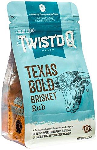 Twist'd Q - Texas Bold Brisket Rub - American Royal - Lucky Dawgs
