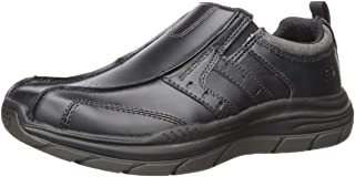Skechers Mens Expected 2.0-Wildon Leather Slip on Leather Slip on
