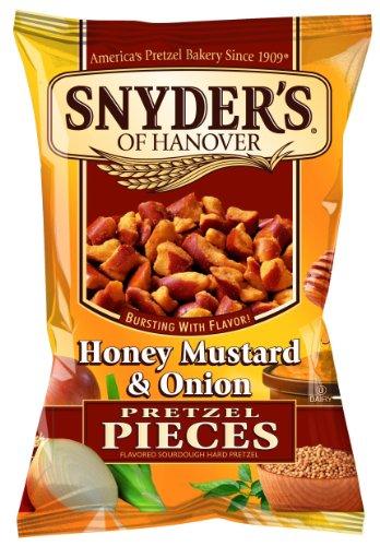 Snyder's Honey, Mustard and Onion Pretzel Pieces 125g - 10 pack