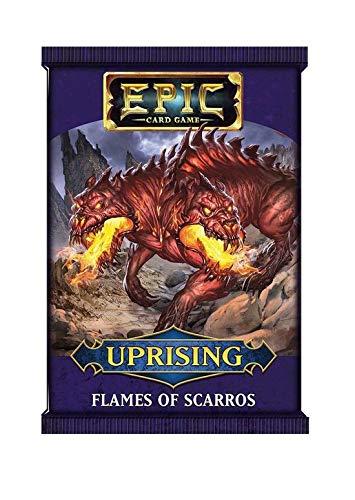 Devir Epic Expansion insurreccion: Sobre Las Llamas de Skarros - Sobre de Cartas en...