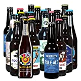 Hops & Shots Discover Fresh Craft Beer Introductory Mixed Bottles and Cans 24 Case Ideal Assorted Craft Beer Selection Gift Set