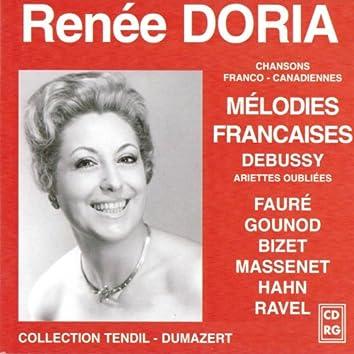 Mélodies françaises (59 chansons franco-canadiennes)