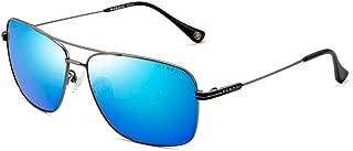 Vintage Sunglasses Polarized for Women Men PARZIN Mirror Metal Fashion UV400