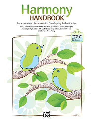 Harmony Handbook: Repertoire and Resources for Developing Treble Choirs, Book & Online PDF [With Access Code]