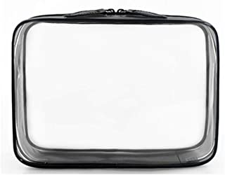 Ms. transparent wash bag cosmetic bag travel travel swimming portable waterproof simple large capacity storage bag Khouses (Color : Clear, Size : L)