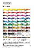 Lascaux Artiste Acrylique: Nuancier imprimé