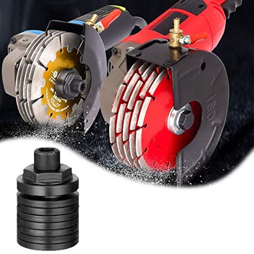 ZURITI Convertidor De Adaptador De Amoladora Angular a MáQuina Ranurado, Adaptador De Taladro De Tornillo para Amoladora Angular para Cabezal Modificado para Amoladora Angular Tipo 100/150 M10 Black