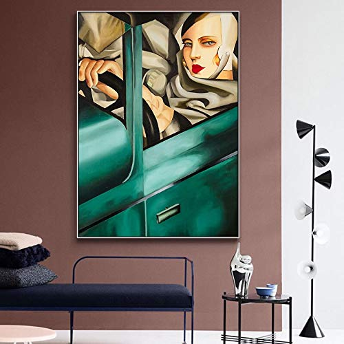 N / A Carteles y Grabados de Obras de Arte clásicas de Artistas Lienzos de Arte Cuadros sin Marco para decoración del hogar 20cmX25cm