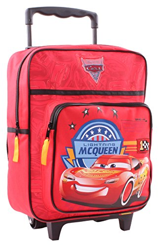 Disney Cars Valigia per bambini, 35 cm, 11.5 liters, Rosso (Red)