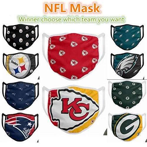 Bosi General Merchandise Masken. NFL League, Teamchefs, Patrioten, Adler, Cowboys, Tiger, Steelers usw, Fußballmasken
