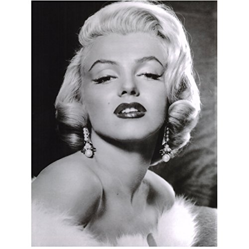 Marilyn Monroe Head Shot Looking Glam and Sultry 8 x 10 Inch Photo