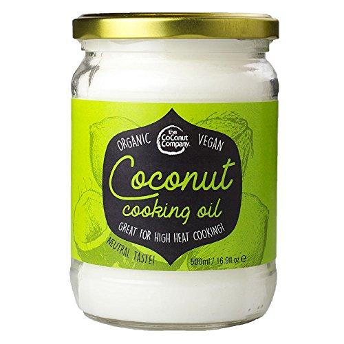 Organic Coconut Cooking Oil 500ml - Organic, Vegan, 100% Natural, No Coconut Aroma,...