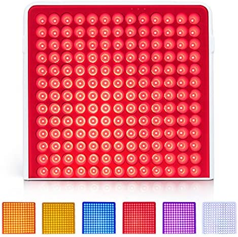 Led Colors Light Therapy Lamp Red Light Panel Device Multicolor with Goggles Serfory product image