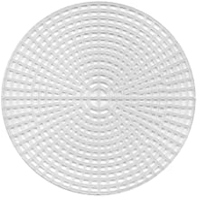 Darice Plastic Canvas 7 Count 9 inch Circle Clear 33027 (12-Pack)