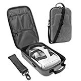 HIJIAO Hard Travel Case for Oculus Quest 2 & Quest VR Gaming Headset and Controllers Accessories Waterproof Shockproof Carring case (Gray)