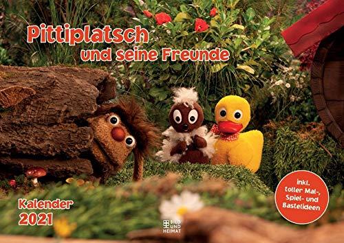 Pittiplatsch und seine Freunde 2021: Kalender