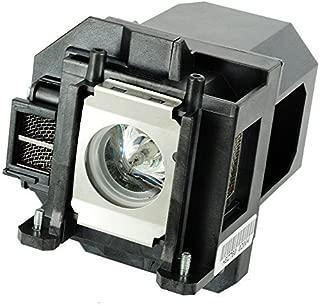 QueenYii ELPLP53 Replacement Lamp with Housing for EPSON EB-1830 EB-1900 EB-1910 EB-1915 EB-1920W EB-1925W EMP-1915 H314A H326B H314B PowerLite 1830 PowerLite 1915 PowerLite 1925W VS400