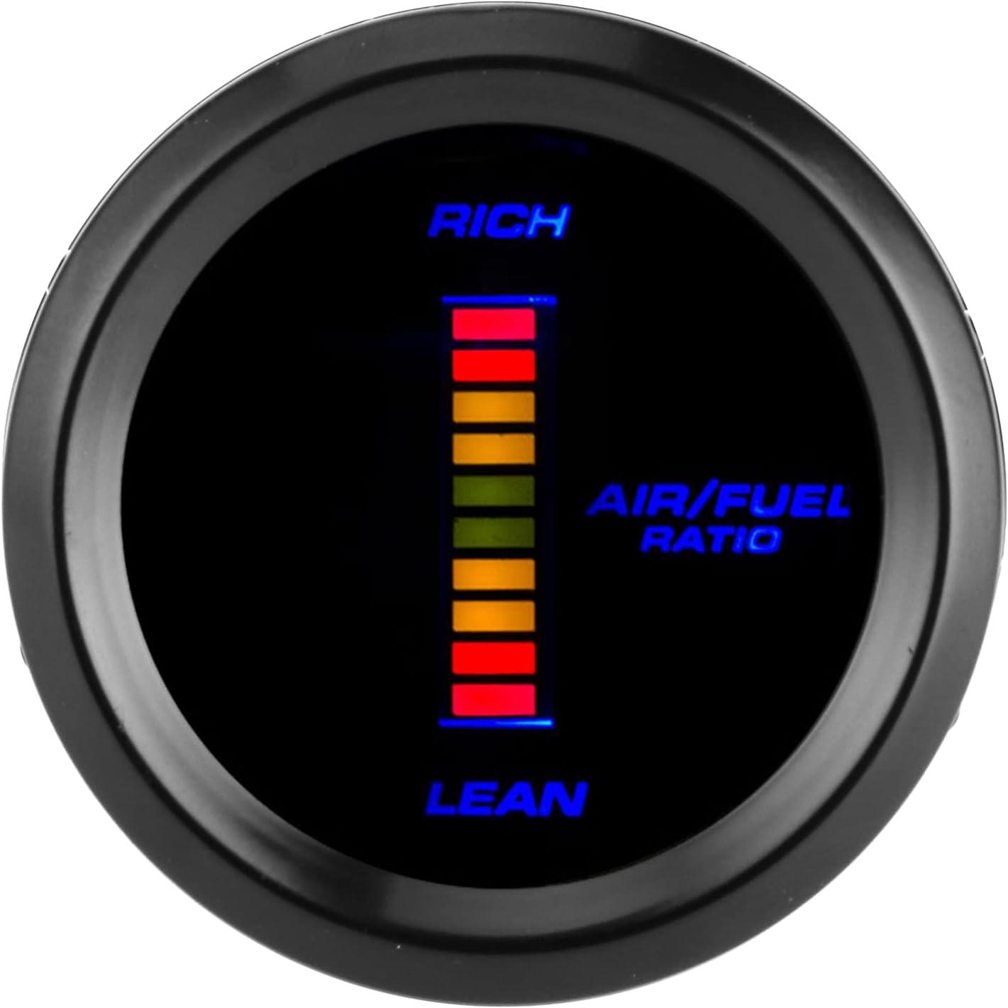 Air Fuel Ratio AFR Universal Gauge 12V Japan Maker New mart