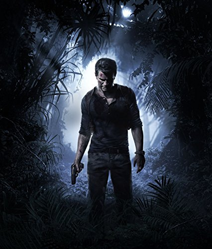 Uncharted 4: A Thief's End – US Textless Imported Video Game Wall Poster Print - 30CM X 43CM