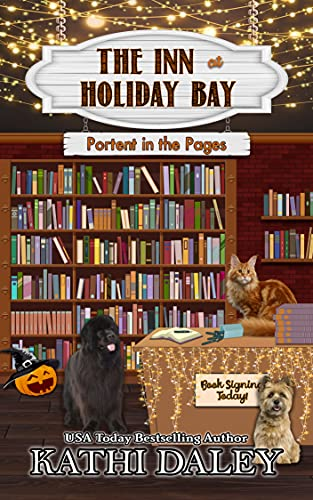 The Inn at Holiday Bay: Portent in the Pages by [Kathi  Daley ]