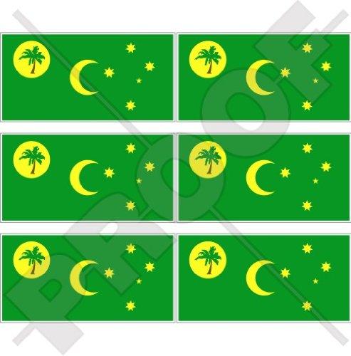 COCOS (KEELING) EILANDEN Vlag Australië, Australische 40mm (1,6