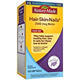 Best Hair Skin And Nails Vitamins - Nature Made Hair, Skin & Nails with 2500 Review