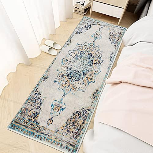 YX-lle Home - Alfombra moderna para sala de estar, mullida, tacto suave, 15mm de grosor, para dormitorio, sala de estar y pasillo