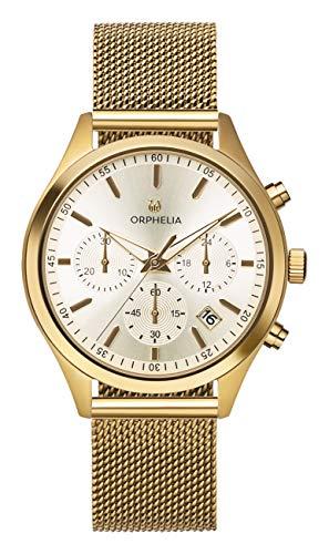Orphelia Damen Chronograph Quarz Uhr mit Edelstahl Armband OR32801