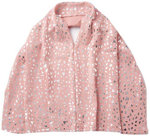 s.Oliver Mädchen 58.908.90.5261 Regenschirm, Rosa (dusty pink AOP 42A6), 1 (Herstellergröße:1)