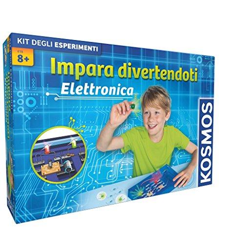Giochi Uniti Kosmos GU527 - Impara Divertendoti Elettronica, Versione Italiana