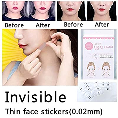 Face Lifting Patch Invisible Artifact Sticker Lift Chin Thin Face Sticker Adhesive Tape Make-up Face Lift Tools 40Pcs