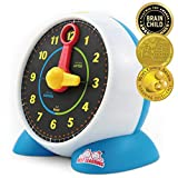 BEST LEARNING Learning Clock - Educational Talking Learn to Tell Time Light-Up Toy with Quiz and Sleep Mode...