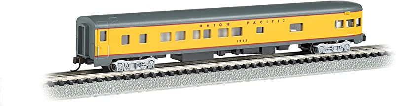 Bachmann Industries Smooth Side Union Pacific N-Scale Observation Car, 85'
