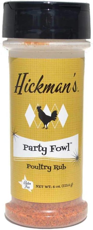 Hickman's BBQ Party New San Antonio Mall product Fowl Rub oz 4 Poultry