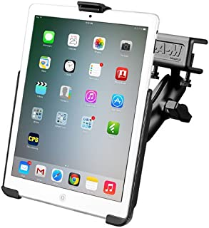 RAM MOUNTS (RAM-B-177-AP14U Glare Shield Clamp Mount with EZ-Roll'R Model Specific Cradle for The Apple Ipad Mini and Ipad Mini 3 Without Case, Skin Or Sleeve