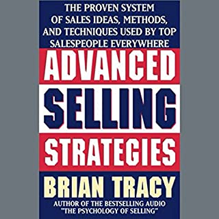 Advanced Selling Strategies audiobook cover art
