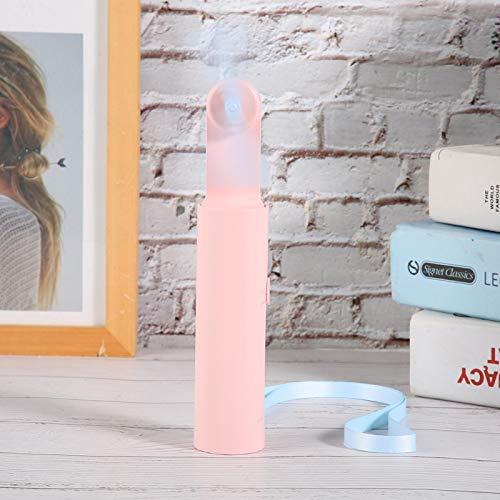 Okuyonic Power Bank Fan Mini USB Recargable de Viaje para oficinas Que acampan(Pink, Insect)