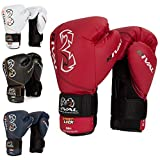 RIVAL Boxing RB1 Hook and Loop Ultra Bag Gloves - 12 oz - Navy