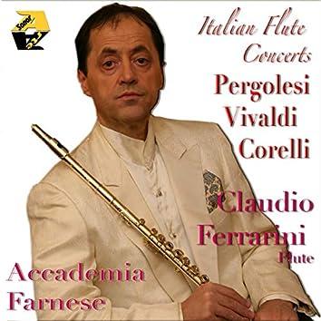 Pergolesi, Vivaldi, Corelli: Italian Flute Concerts