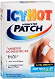 ICY HOT Medicated Patches Extra Strength Small, Arm, Neck, Leg, 5 Ea (6 Pack)