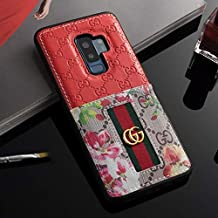 Galaxy S9 Plus Case- US Fast Deliver Guarantee FBA- Elegant Luxury PU Leather Designer Case with Card Holder Slot Cover for Galaxy S9 Plus