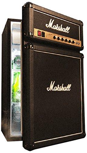 Marshall Réfrigérateur de transfert, 124,6 L, noir, frigo combine (transfert, noir, droite, levier, rotatif, verre, Minibar)